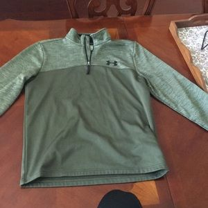 Under Armor Green Pullover Jacket